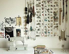 Úžitkový textil - šperkovnica - 5710198_