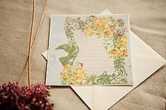 Papiernictvo - Pohľadnica - pre novomanželov - 5708272_