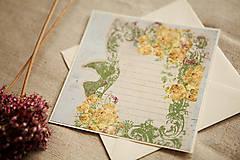 Papiernictvo - Pohľadnica - pre novomanželov - 5708273_
