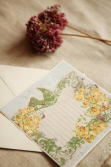 Papiernictvo - Pohľadnica - pre novomanželov - 5708274_