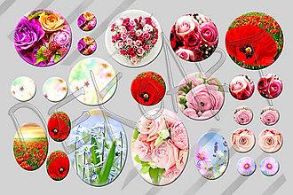 Materiál ručne robený - Motívy na šperky č.36 - akcia 4+1 zdarma na všetky motívy - 5708127_
