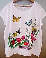 Tričká - Pre lúčne romantičky (s motýľmi) - 5710502_