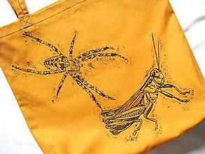Nákupné tašky - Pavúk loví koníka! - 5710339_
