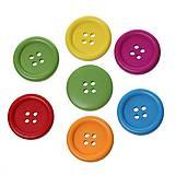 - Drevené gombíčky 2cm mix (balíček 10ks) - 5710796_
