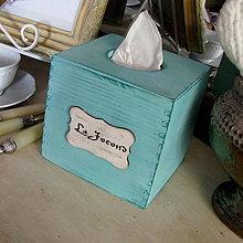 Krabičky - Mentolkový zásobník na vreckovky - 5707509_