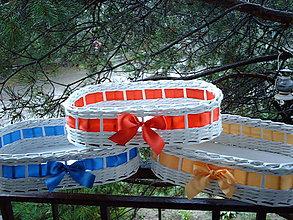 Košíky - modrý, žltý alebo červený..? - 5708109_