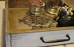 Nádoby - Ornamentový podnos - 5707924_