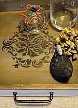 Nádoby - Ornamentový podnos - 5707925_
