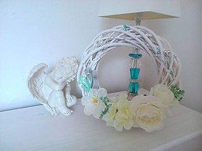 Dekorácie - Biely minimalistický - 5713407_
