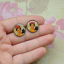 Náušnice - Frida n.1 puzetové náušnice - 5713888_