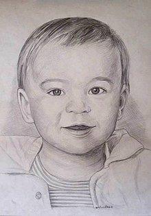 Kresby - Juliánko - portrét A3 - 5712358_