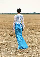 Šaty - Light Blue Sky & Lace - 5714015_