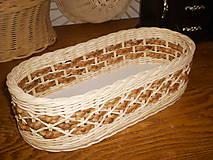 Košíky - Vodný hyacint s diamantovou vazbou - 5711820_