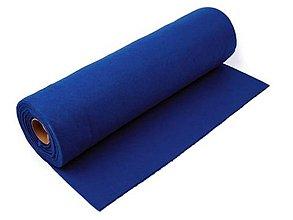 Textil - Filc-metráž, šírka 41 cm (tmavo modrý) - 5711405_