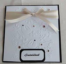 Papiernictvo - Svadobné pohľadnice a peniaze obálka s vtákmi - 5714689_