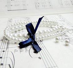 Sady šperkov - Wedding Dark Blue Set - 5714901_