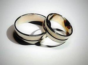 Prstene - svadobné obrúčky - 5716983_