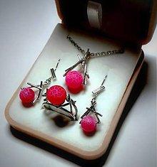 Sady šperkov - Achátové čerešne - 5717151_