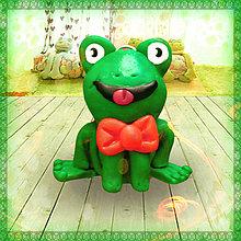 Hračky - Fešák žabák NA ZÁKAZKU :-D - 5714712_