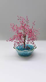 Dekorácie - Stromček šťastia-ružový - 5718976_