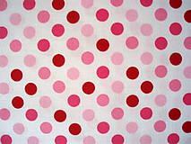 Textil - Bavlna Spot On BUBBLE GUM - 5721610_