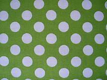 Textil - Bavlna Spot On LIME - 5721614_