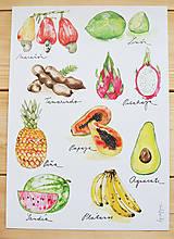 - Ovocie Strednej Ameriky - 5717732_