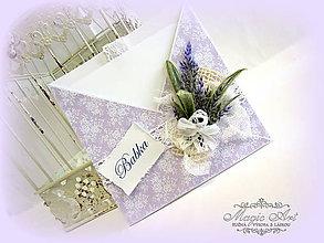 Papiernictvo - S vôňou levandule... - 5722427_