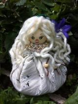 Bábiky - Levanduľová bábika svetlá - 5718422_