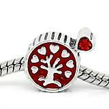 Korálky - Pandorková korálka strom života - 5719251_