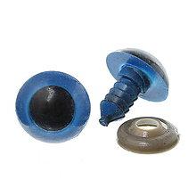 Galantéria - Bezpečnostné očká 16mm modré - 5719154_