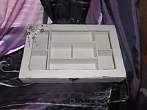 Krabičky - presklenná šperkovnica I. - 5718421_