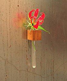 Dekorácie - Origo váza. Iroko - 5724615_