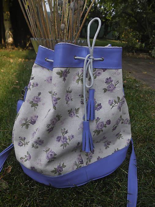 Violet Roses Bag