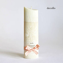 Svietidlá a sviečky - Almond & Peach - 5724167_