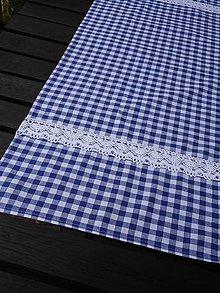 Úžitkový textil - BĚHOUN s krajkou 39 x 96 cm - 5724559_