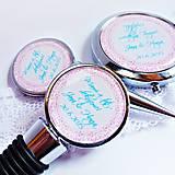 zátka na láhev s ornamentem - SK text na přání