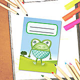 - Mini zápisník Guľkáči - žabka - 5723310_