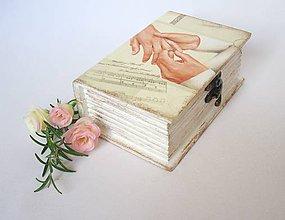 Prstene - Krabička na prstienky - 5728832_