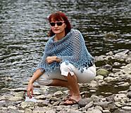 Iné oblečenie - Chytená do siete - pončo - 5727138_