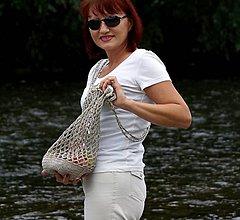 Nákupné tašky - Sieťová taška cez plece - 5727022_
