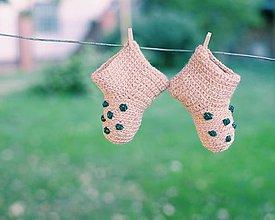 Topánočky - Mini papučky (ZLATÉ) - 5726440_