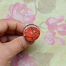 Prstene - Vintage Sakura  - prsten průměr 25 mm - 5728058_