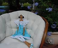 Bábiky - Bodkovaná tyrkysová - 5732541_