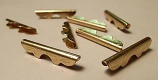 """Komponenty - Koncovka ornamentová """"zlatá"""" - 5729276_"""