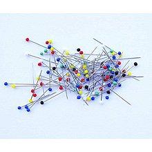 Galantéria - špendlíky (38 mm 100 ks) - 5729861_