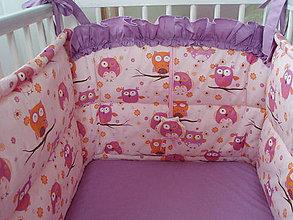 Úžitkový textil - Hniezdo do detskej postieľky - 5734568_