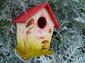 Pre zvieratká - Búdka pre vtáčiky :) - 5735600_