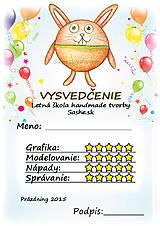 Papiernictvo - Letné vysvedčenie Guľkáči - 5733696_