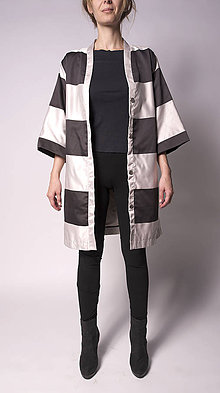 Kabáty - Kimonový kabát - 5739315_